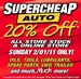 Super Cheap Auto - 20% Off Storewide