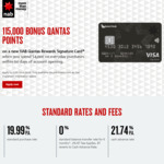 NAB Qantas Rewards Visa - 115k QFF Points - $395 Fee