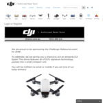 Win A DJI Spark worth $629 from D1store