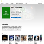 Xbox Game Pass 1 Month - $1 (Usually $10.95) @ Microsoft Store (New Memberships Only)
