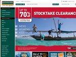 Kathmandu Stocktake Cleareance, up to 70% off, Some BOGOF