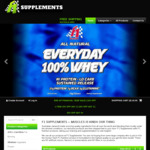 10-25% off Everything EOFY Sale @ F1 Supplements