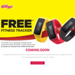 Buy 3 Kellogg's Nutri-Grain or Special K Products and Redeem a Free Fitness Tracker