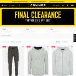 Further 20% off Sale Items @ Connor