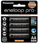 [eBay Plus] Panasonic Eneloop Pro 1.2v 2550mAh Rechargeable AA Battery 4pk Made in Japan $17.99 Delivered @ GBD-Online eBay