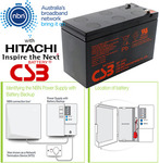 [eBay Plus] CSB 12V 7.2Ah UPS/NBN Backup Battery by Hitachi $16.99 Delivered @ gbd-online eBay