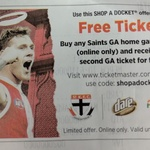 Buy One Get 1 Free Saints General Admission Home Games @ Ticketmaster
