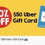 10% off $25/$50 Uber Gift Cards @ 7-Eleven via Fuel Lock App