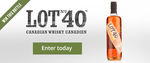 Win a Bottle of Lot 40 Rye Whisky from The Whisky List