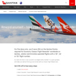 25% off Classic Qantas Flight Rewards @ Qantas