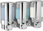 3 Chamber Chrome Aviva Soap Dispenser $59.95 (was $98.95) @ Bunnings