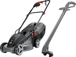 Ozito Electric Mower and Line Trimmer Kit $99 @ Bunnings