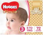 Huggies Nappies Size 3 $20 + Delivery (Free with Prime/ $49 Spend) @ Amazon AU