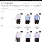 Van Heusen Mens LS Business Shirts $6.30 (C&C) @ David Jones
