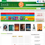 Booktopia 10% off PLUS a Bonus $10 off for Purchases over $50