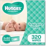 1600 Huggies Wipes for $48 Delivered @ Amazon AU