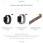 30% off All Third Party Apple Watch Bands @ Pocketband