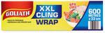 Goliath XXL Cling Wrap 33cm X 600m $12.99 @ ALDI