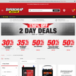 30% off SCA Branded Car Batteries @ SuperCheap Auto