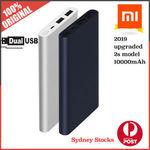 Xiaomi Mi Power Bank 2S 10000mAh (Black or Silver) $18.80 Delivered @ a1_electrictoys eBay