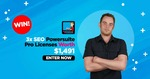 Win 1 of 3 SEO Powersuite Pro Accounts Worth US $497 (~AU $698) Each from Matthew Woodward