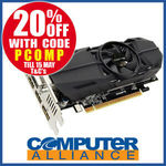 Gigabyte GTX1050Ti 4GB OC Low Profile $159.20 + $15 Delivery (Free with eBay Plus) @ Computer Alliance eBay