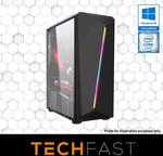 "Gaming PCs: R3-2200G RX 570 8GB: $599 / with Dual 24"" Monitors: $799 / i7-8700 RTX 2080: $1649 Delivered @ TechFast Website"