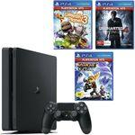 PlayStation 4 1TB Slim Console + 3 Games $341.10 + $7.90 Delivery (Free with eBay Plus) @ Big W eBay