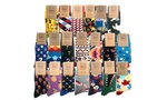 Novelty Socks: 6 Pairs (from $19), 12 Pairs (from $29) or 20 Pairs ($39) + Postage @ Groupon