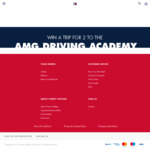 Win a Mercedes AMG Spirit Day Experience for 2 Worth $3,950 from Tommy Hilfiger