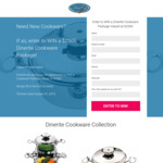 Win a $2,500 Cookware Package from DineRite