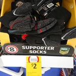 [NSW] NRL Mens Work Socks $2 (Was $8) @ Coles (Neutral Bay)