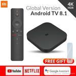 Original Xiaomi Mi TV BOX S Smart 4K Ultra HD 2G 8G Android 8.1 USD $53.24 / AUD $77.56 @ Dhgate