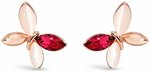 Pink Crystal Earrings $39 (Save $71) + $10 Delivery ($0 with Order over $100) @ Pica Léla