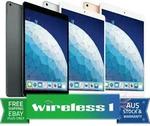 Apple iPad (7th Gen) Wi-Fi 128GB $639, iPad Air 64GB 2019 $662.15 + $14.50 Shipping ($0 with Plus) @ Wireless 1 eBay