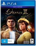 [PS4] Shenmue 3 $79 ($74 w/ Prime) Delivered @ Amazon AU