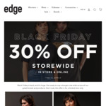 30% off Storewide @ Edge Clothing
