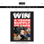 Win a Year's Supply of Caps from LSKD