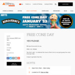 [VIC] Free Ben & Jerry's Ice Cream, 23/1 @ Hoyts Melbourne Central