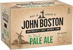 John Boston Pale Ale 330ml - $36 Per Carton (24 Single Bottles) C&C @ BWS