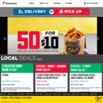 Large Traditional Pizza + Garlic Bread + 1.25L Drink $8 (Pick up) @ Domino's Pizza (Until 5pm Local Time)