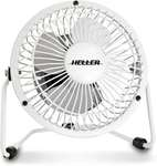Heller High Velocity USB Fan $6 + Delivery (Free with Kogan First) @ Kogan