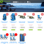 35% to 65% off Oztrail Chairs, Tents, Sleeping Bags & Rucksacks (Free Delivery to Selected Metro Areas > $80) @ LeisureGear