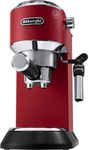 DeLonghi Dedica Manual Coffee Machine (Red) $199 Delivered @ Myer