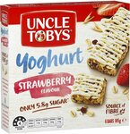 Uncle Tobys Muesli Bars Yogurt Topps Strawberry 6 Pack $2.15 + Delivery ($0 with Prime/ $39 Spend) @ Amazon AU