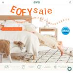 Eva EOFY Sale $150 off Mattresses $50 off Pillows @ Eva Mattress