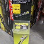 [VIC] Ryobi 36V 2.0ah 600mm Hedge Trimmer Kit $160 (Was $319) @ Bunnings, West Footscray