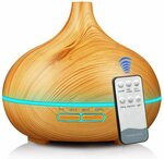 K KBAYBO 550ml Essential Oil Diffuser $25.19 (Was $35.99) + Delivery ($0 with Prime / $39 Spend) @ Amazon AU