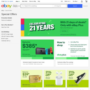 Ebay Australia Deals Coupons And Vouchers Ozbargain