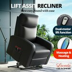 Levede Electric Massage Chair Recliner Chair with Motorized Lift Assist $449.99 Delivered (Was $529.99) @Warehouse Ocean